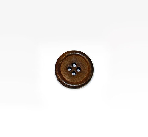Smooth Leather Button