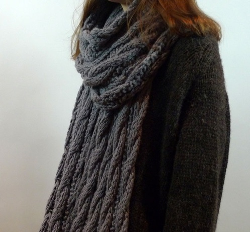 Chunky Cable Wrap