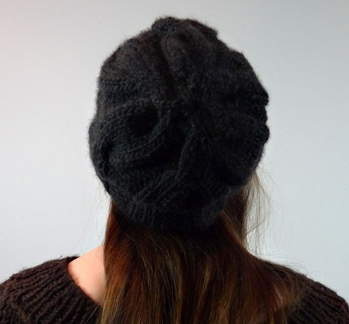 Simple Cabled Hat