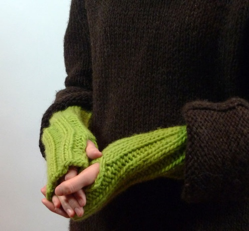 Simple Armwarmers