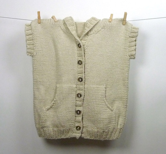 Charlie Hooded Vest Cardigan